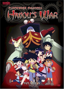 Clockwork Fighters Hiwou's War DVD 03