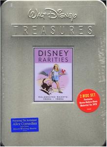 Walt Disney DVD Treasures Rarities Celebrated Shorts 1920-60