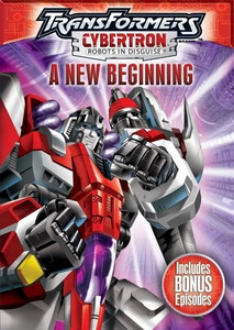 Transformers: Cybertron DVD A New Beginning