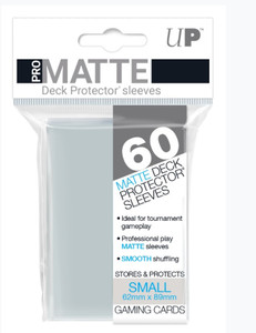 Ultra Pro Pro-Matte Sleeves Small (60) - Clear