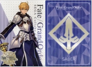 Fate/Grand Order File Folder 01 Saber