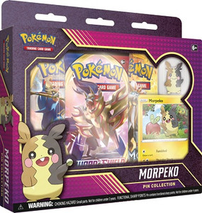 Pokemon Morpeko Pin Collection Box
