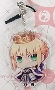 Fate/Grand Order Keychain - SD Saber/Artoria Pendragon