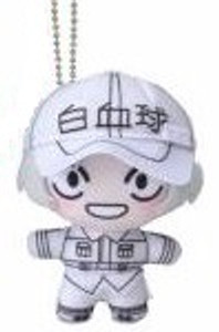 Cells at Work! Plush Doll - White Blood Cell 04