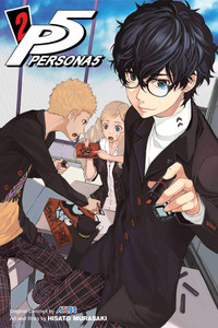 Persona 5 Graphic Novel 02