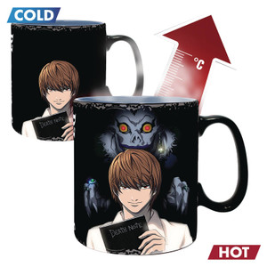 Death Note Heat Change Mug - Kira & L