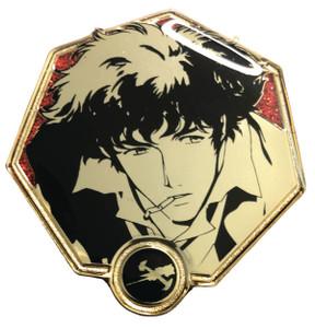 Cowboy Bebop Enamel Pin - Golden Spike Spiegel
