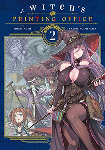 A Witch's Printing Office Manga 02