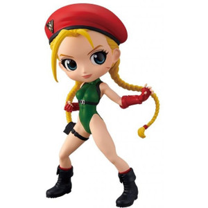 Street Fighter Q Posket Figure - Cammy Red