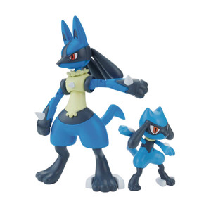 Pokemon Model Kit: Lucario & Riolu