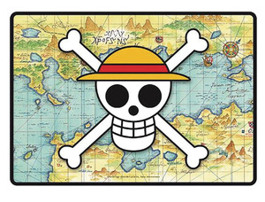 One Piece Gaming Mouse Pad - Skull Map