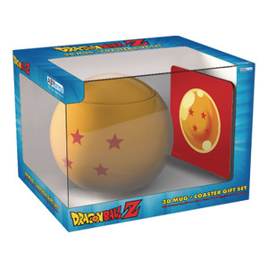 Dragon Ball Z 3D Mug & Coaster Gift Set - Dragon Ball