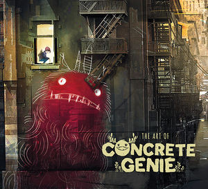 The Art of Concrete Genie Art Book (HC)