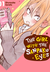 The Girl with the Sanpaku Eyes Manga 01 (Color)