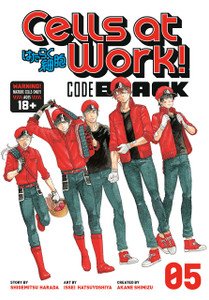 Cells at Work! CODE BLACK Graphic Novel 05