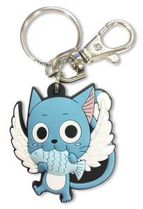 Fairy Tail PVC Keychain - SD Happy (Season 7)
