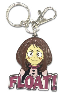 My Hero Academia Enamel Metal Keychain - Ochaco
