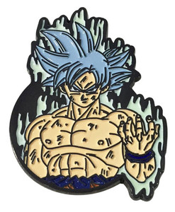 Dragon Ball Super Enamel Pin - Ultra Instinct Goku