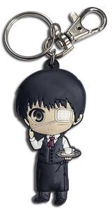 Tokyo Ghoul PVC Keychain - SD Kaneki