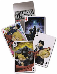 Fullmetal Alchemist Brotherhood Playing Cards Style #2032