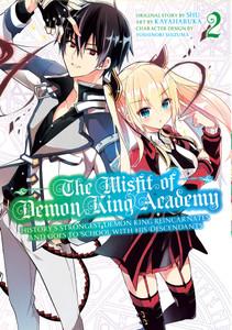 The Misfit Of Demon King Academy Manga 02