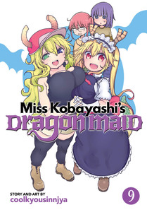 Miss Kobayashi's Dragon Maid Graphic Novel 09