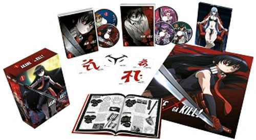 Akame ga Kill Collection 1 Blu-ray/DVD Collector's Edition