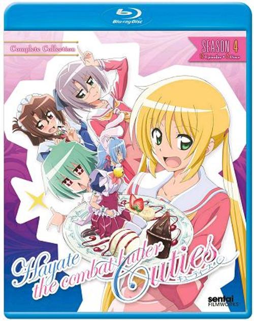 Hayate the Combat Butler Season 4 Blu-ray Colletion
