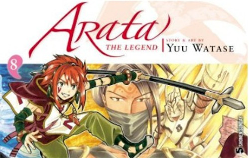 Arata: The Legend Graphic Novel 08
