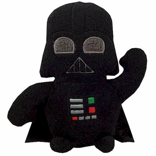 Star Wars Footzeez Plush Doll Darth Vader