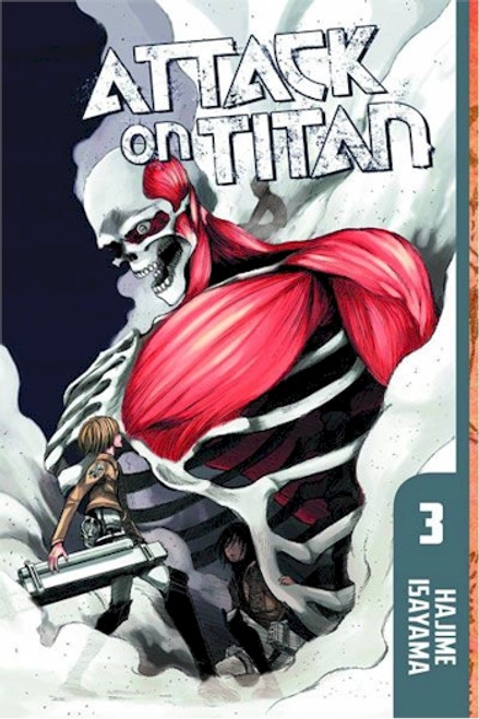 Attack on Titan Graphic Novel 03
