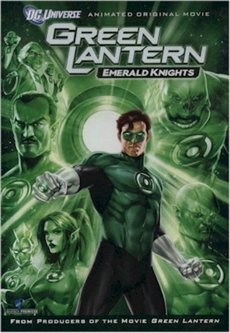 Green Lantern Emerald Knights DVD