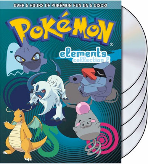 Pokemon Elements DVD Collection Part 2
