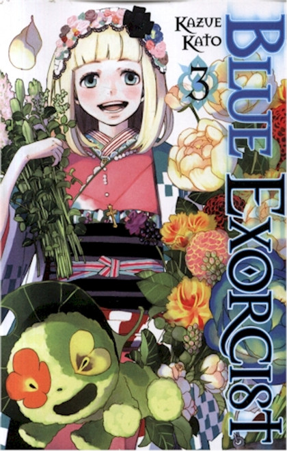 Blue Exorcist Graphic Novel Vol. 03