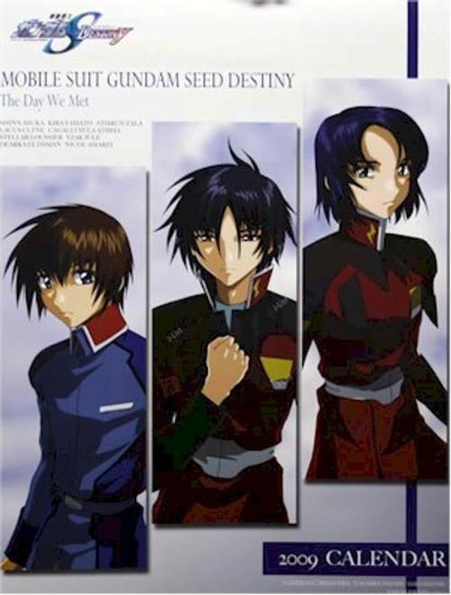 Gundam Seed Import 2009 Calendar #CL-186