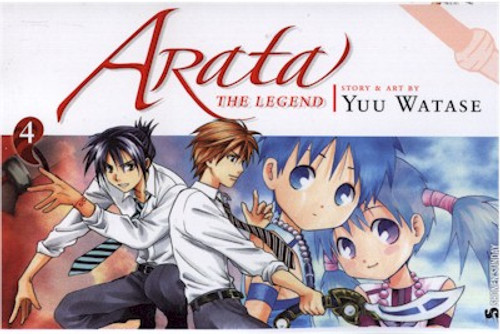 Arata: The Legend Graphic Novel 04