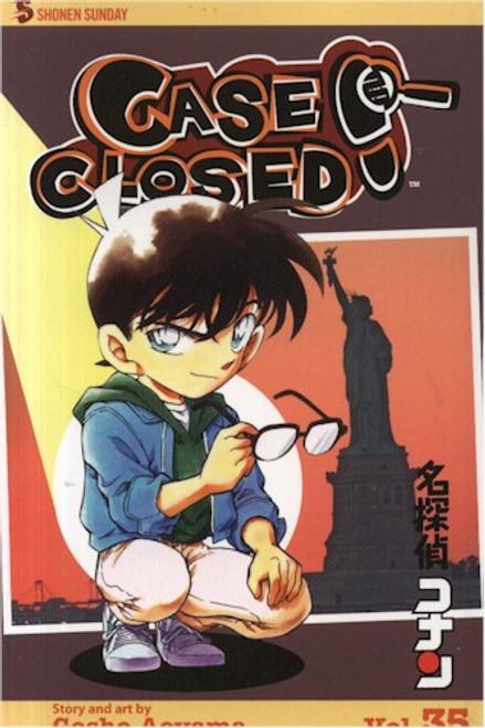 Case Closed Graphic Novel Vol. 35