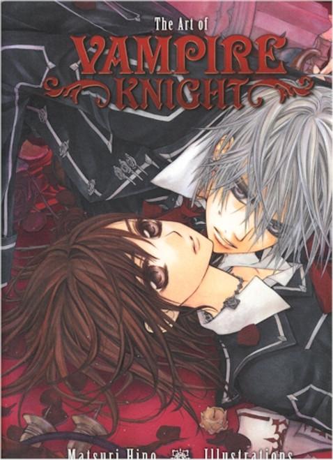 The Art of Vampire Knight Illustrations Art Book
