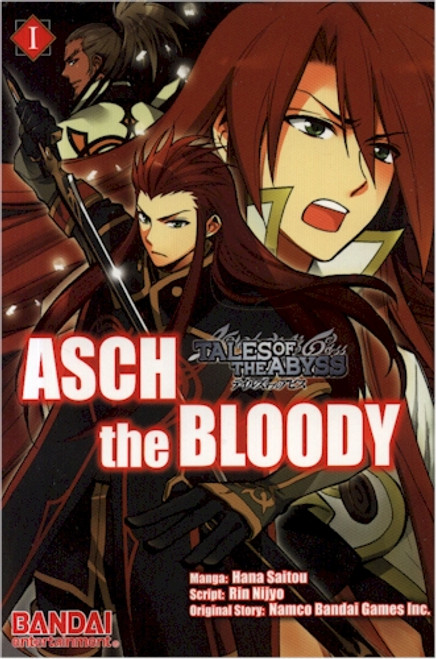 Tales of the Abyss: Asch the Bloody Graphic Novel 01