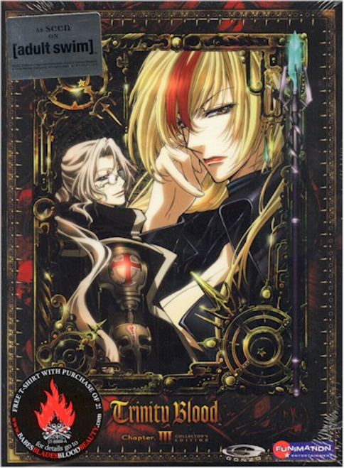 Trinity Blood DVD 03 Collector's Edition