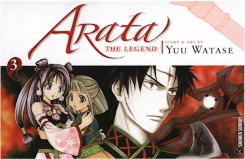 Arata: The Legend Graphic Novel 03