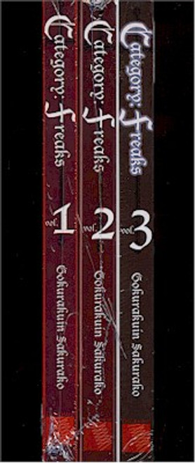 Category Freaks Graphic Novel 01-03 Set