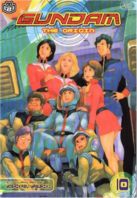 Gundam The Origin Graphic Novel Vol. 10