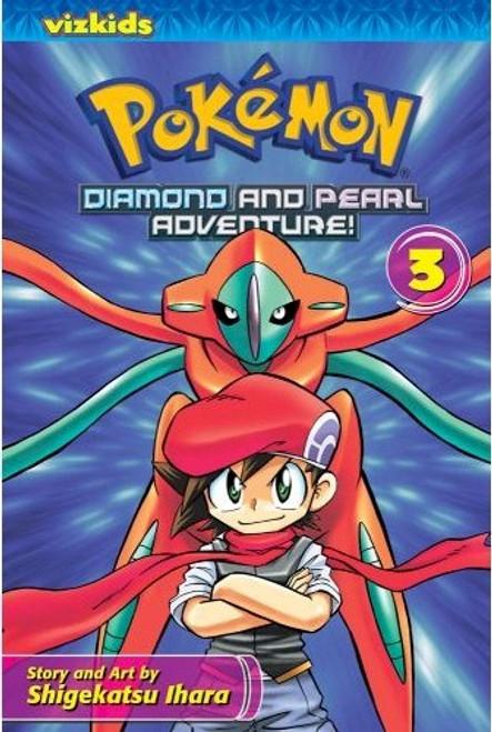 Pokemon Diamond and Pearl Adventure Graphic Novel 03