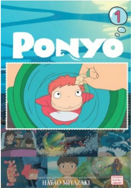 Ponyo on the Cliff by the Sea Film Comic Vol. 01
