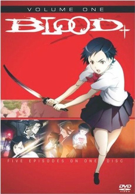 Blood+ DVD Vol. 01
