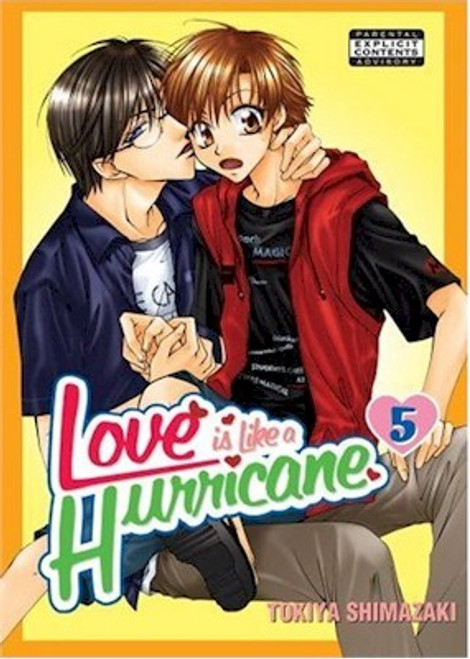 Love is Like a Hurricane Graphic Novel 05