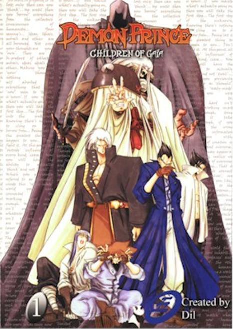 Demon Prince Children of Gaia Graphic Novel 01