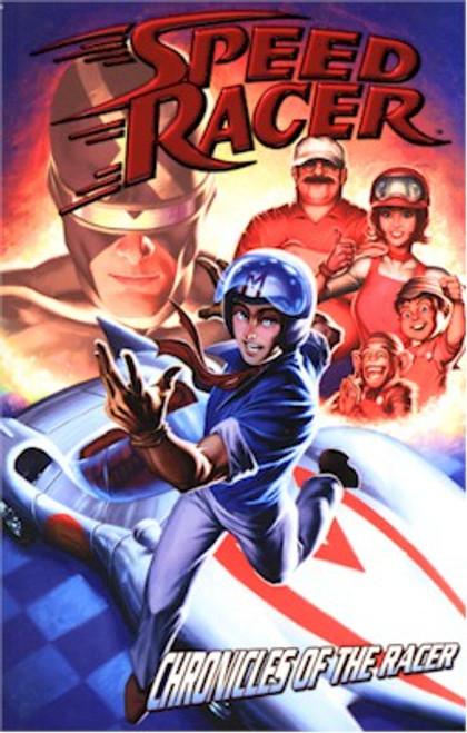Speed Racer Graphic Novel Chronicles of the Racer (IDW)