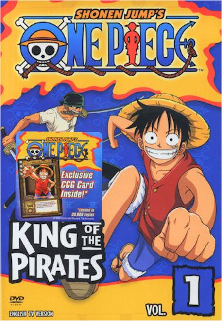 One Piece DVD 01 King of the Pirates